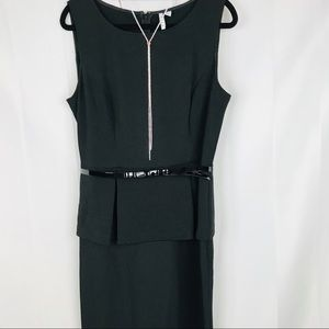 Elle | Little Black Dress with Bow Belt | 12